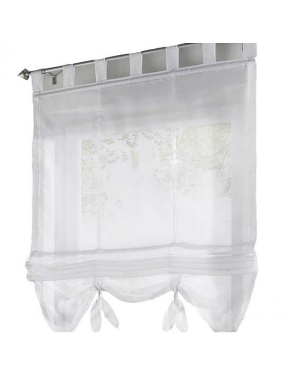 Liftable Voile Sheer Roman Curtain 100*155 cm