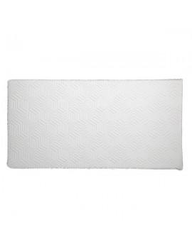"10"" Three Layers Cool Medium High Softness Cotton Mattress with 2 Pillows (Twin Size) White"