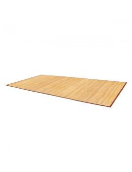 "24""*48"" Non-sliding Waterproof Bamboo Floor Mat Natural"