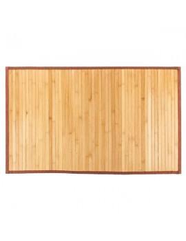 "21""*34"" Non-sliding Waterproof Bamboo Floor Mat Natural"